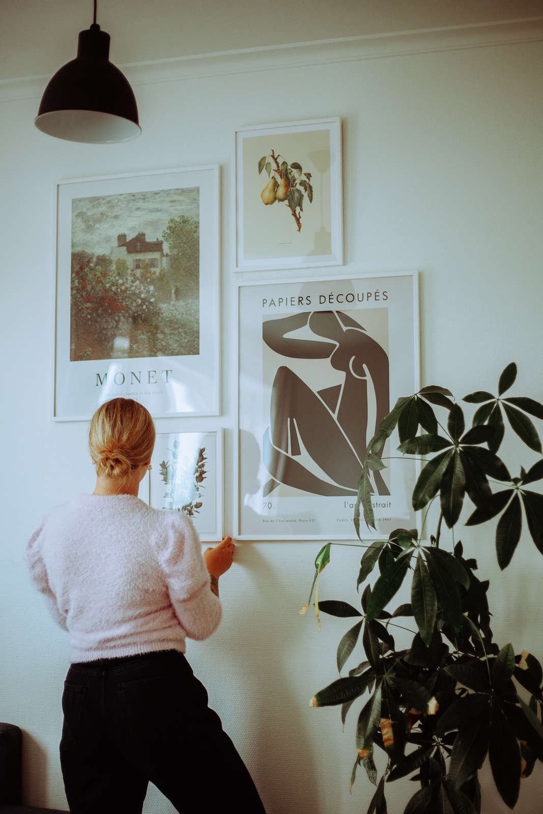 Making a gallery wall with Gallerix
